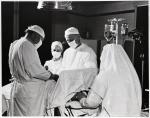 St. Joseph Hospital operating room, Bangor, ca. 1960