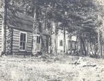 Sporting camp at Nahmakanta Lake, ca. 1915