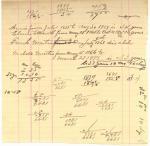 John Martin note on children's deaths, Bangor, ca. 1899