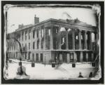 Ruins of the Merchant Exchange / U.S. Custom House, Portland, 1857