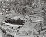 Bangor Auditorium under construction, 1955