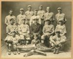 Lunn & Sweet baseball team, Industrial League Champions, Lewiston, 1916
