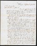 Samuel McGill letter regarding John B. Russwurm's death, Yarmouth, 1851