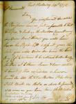 Benedict Arnold letter to Capt. Farnsworth, 1775