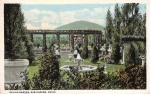 Italian Garden, Bar Harbor ca. 1910