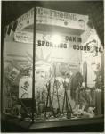 Dakin Sporting Goods Hunting And Fishing Window Display, Bangor, ca. 1937