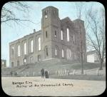 Ruins of the Universalist Church, Bangor, 1911