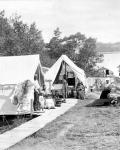 Wabanaki encampment, Bar Harbor, ca. 1887