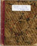 Champlain Society Records and Yacht Log, Mount Desert Island, 1881