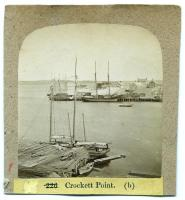 View of Crockett's Point, Rockland, ca. 1875