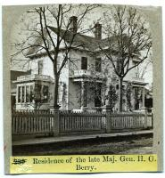 Residence of the late Major General Hiram G. Berry, Rockland, ca. 1875