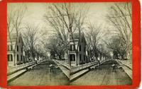 Middle Street west from Main Street, south side, Rockland, ca. 1875