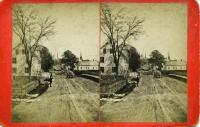 Limerock Street east from the shoe factory, Rockland, ca. 1875