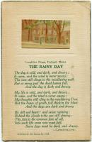 """The Rainy Day"" postcard, Portland, ca. 1910"
