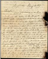 James A. Thompson to Gov. King, 1837