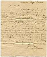 Letter from George Tate II to Robert Tate, Cronstat, 1801