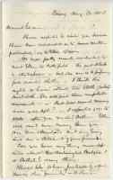K.B. Sewall letter on daughter's education, Mobile, 1858