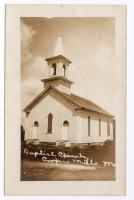 Coopers Mills Baptist Church, Whitefield, ca. 1920