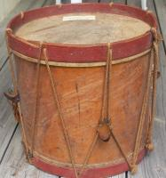 Civil War drum, Rumford, ca. 1865