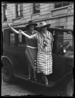 Wyoming delegates to NFBPWC convention, Portland, 1925