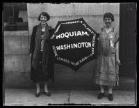 Farthest east, west delegates, Portland, 1925