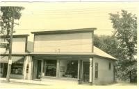 Barber Shop, 114 Main Street, Bridgton, ca. 1938