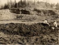 Volcanic crater, Winterville, 1932