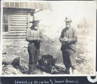 Guides Llewellyn Boynton and Frank Sewell, Norcross, ca. 1910