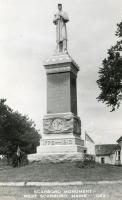 Soldiers' and Sailors' Monument, Scarborough, 1950