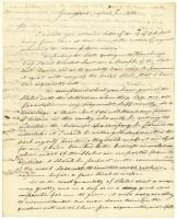 David James to Moses Greenleaf on slate, New York, 1834