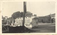 Mayfair Diner, Depot Street, Bridgton, ca. 1938