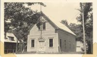 Grand Army of the Republic (G.A.R.) Hall, 10 Upper Depot Street, Bridgton, ca. 1938