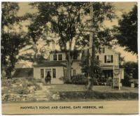 Maxwell's Rooms and Cabins, Cape Neddick, ca. 1936
