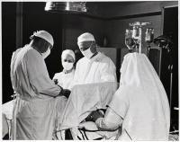 St. Joseph Hospital operating room, Bangor, ca. 1960