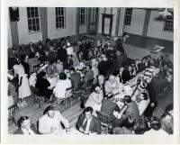 Dinner for Dedication of Westport causeway, Westport Island, 1950