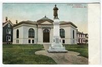 Soldiers' Monument and Library, Pittsfield, 1904