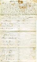 Volunteer enrollment list, Pittsfield, 1862