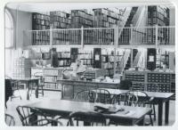 Maine Historical Society Library Reading Room, Portland, ca. 1960