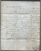 Letter from Leroy H. Huse to Elizabeth Mountfort, May 19, 1847