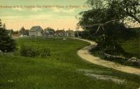 Roadway to the Highland House, Westport Island, ca. 1908