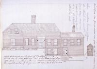 Atkins House, Jefferson Street, Bangor, 1851