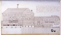 Pendleton & Ross stand, Bangor, 1864