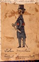 John Martin self portrait, 1889