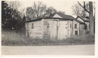 Downes Garage, Depot Street, Bridgton, ca. 1938