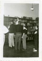 Reading Room in Merrill Hall, Farmington, 1956.