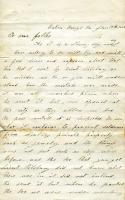 Cpl. Milliken letter to parents, Louisiana, 1863