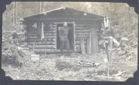 Sportsman at Buckhorn Camp, Jo-Mary Lakes, 1910