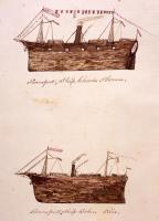 Soldier transport ships, Bangor, 1865