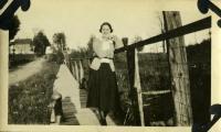 Arlene Plummer, Farmington, ca. 1922