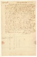 Samuel Adams to James Warren, Springfield, Massachusetts, 1776